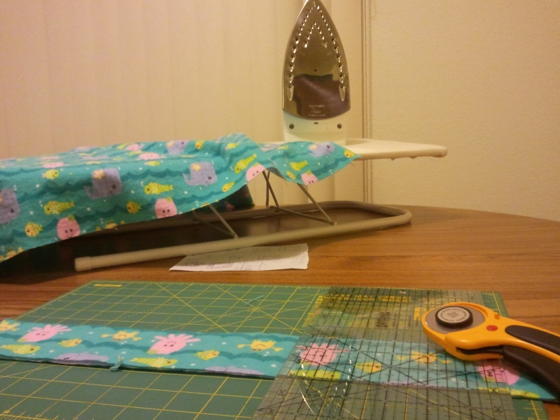 Ironing and cutting
